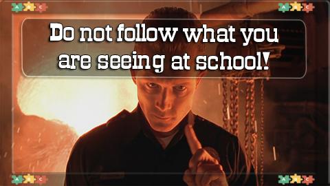 1 Do not follow