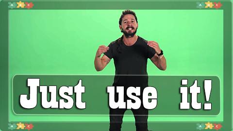 10 Use it