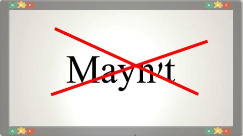 11 Mayn't
