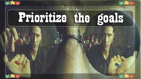 3 Prioritize