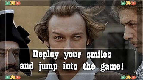 6 deploy your smiles and jump into the game!