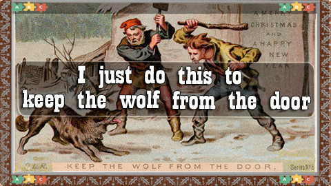 6 keep the wolf