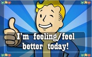 7 I'm feeling better