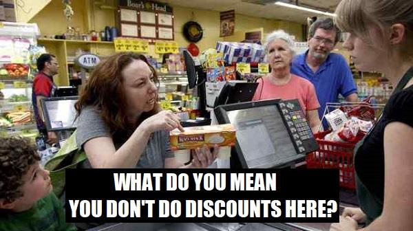 do discounts