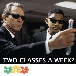 puzzle_2_classes_a_week