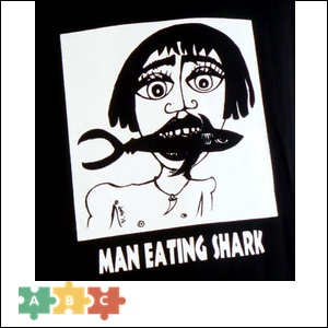 puzzle_a_man_eating_sharks