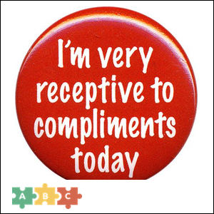 puzzle_receptive to compliments