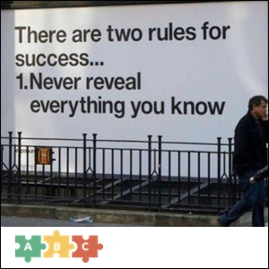 puzzle_there_are_two_rules_for_success